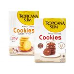 Tropicana Slim Hokkaido Cheese Cookies (5 Sch) + Nutty Chocolate Cookies 200gr