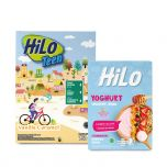 Package: HiLo Teen Vanilla 750gr + HiLo Yoghurt Smoothie Bowl Strawberry (8 Sch)