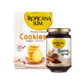 Tropicana Slim Hokkaido Cheese Cookies (5 Sch) + Tropicana Slim Chocolate Spread 300gr