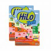 Twin Pack: HiLo Teen Strawberry Milkshake 500gr