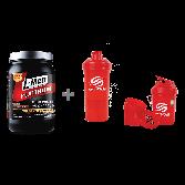 L-MEN PLATINUM CHOCO LATTE 800GR (25GR PROTEIN) + Smart Shake Neon Red