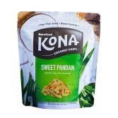 KONA Coconut Chips Pandan 45gr