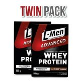 Twin Pack: L-Men Whey Advanced Choco Vanilla 500gr