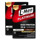 Twin Pack: L-Men Platinum Choco Latte Box (6 SCH)
