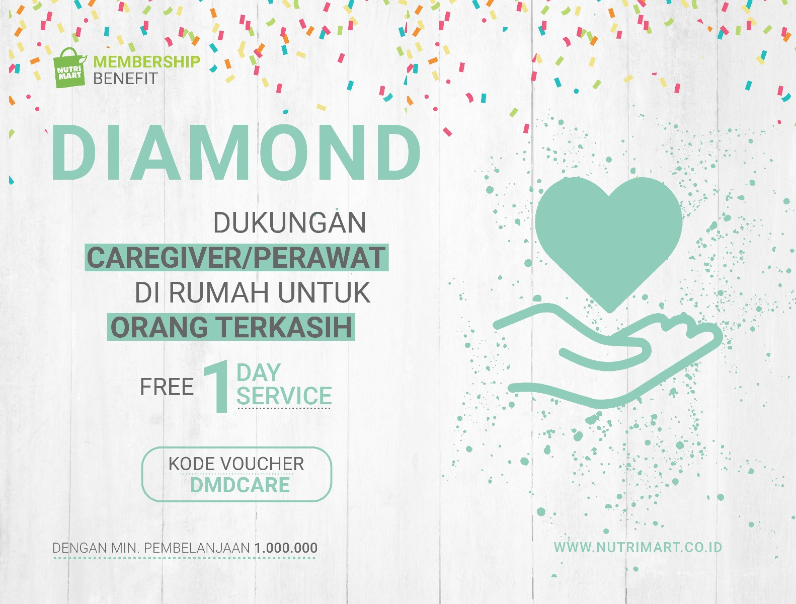 Diamond Voucher Caregiver